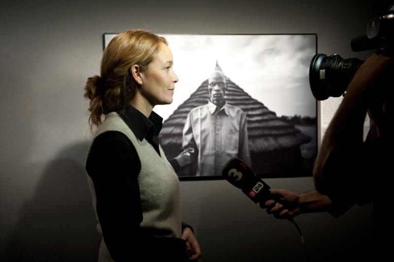 silvia omedes en una entrevista