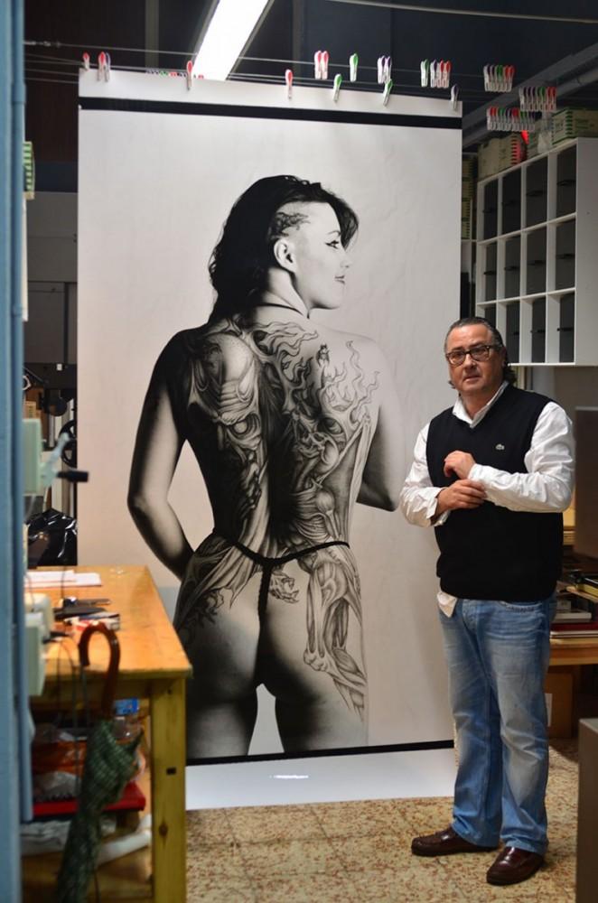 Jordi i fotografía de Michele Curel